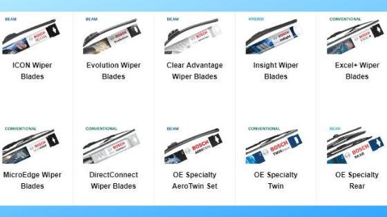 Choosing Your Wiper Blades | New Windscreen Wipers | DIY Car Service Parts | Middlewich
