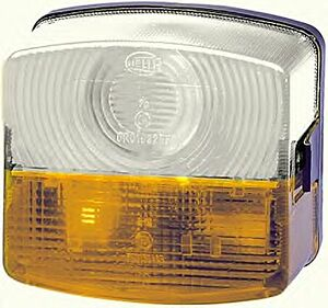Blink / Position light Rear Lamp 2BE003182-091 fitting position Left by Hella