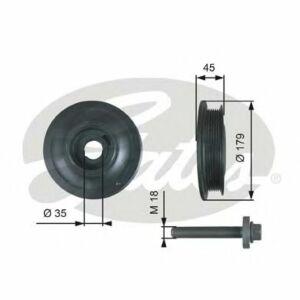 GATES Torsional Vibration Damper Kit TVD1012A