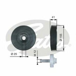 GATES Torsional Vibration Damper Kit TVD1017A