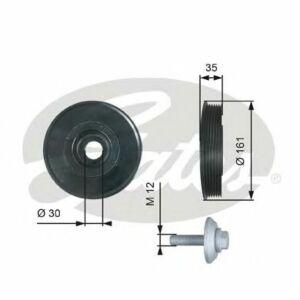 GATES Torsional Vibration Damper Kit TVD1025A