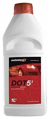 Mintex Dot 5.1 Brake Fluid 1 LTR MBF5-1000B