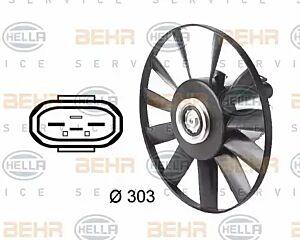 Air Conditioning fan 8EW009144-541 by BEHR