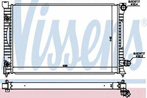 60424 Nissens Radiator engine cooling
