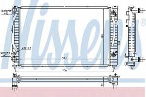 60229 Nissens Car Radiator engine cooling