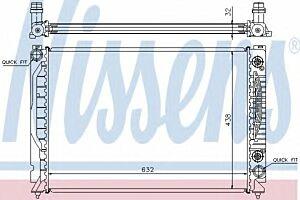 60316 Nissens Car Radiator engine cooling