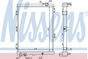 604411 Nissens Radiator engine cooling