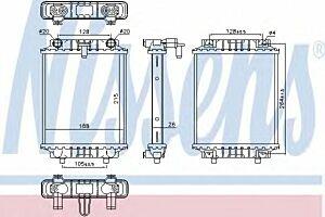 60372 Nissens Radiator engine cooling