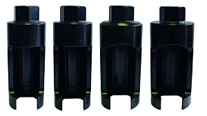 Sykes-Pickavant 01513500 | Electronic Diesel Injector Removal Socket Set 4pc