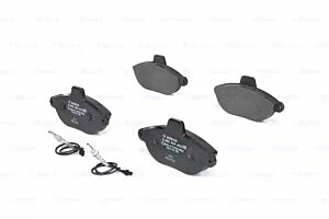 Bosch 0986424415 BP205 Brake Pad Set Disc Brake Front Axle