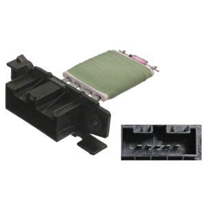 Heater Resistor 100043 by Febi Bilstein