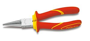 Beta Tools 1010MQ VDE 1000V Insulated Long Round Nose Pliers 160mm | 010100096