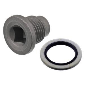 Oil Drain Plug with sealing ring 101250 by Febi Bilstein