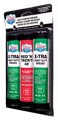 Grease Pack Red N Tacky & XTRA HD 85g 10315A LUCAS OIL