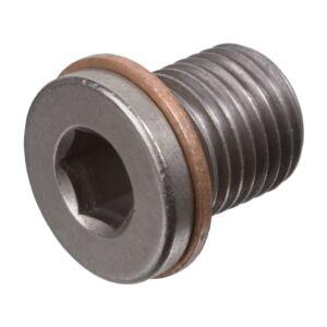 Oil Drain Plug (With Sealing Ring) 104487 by Febi Bilstein