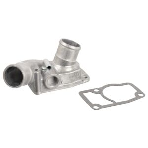 105994 Thermostat with housing and gasket by Febi Bilstein