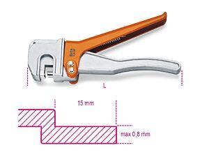 Beta Tools 1065P Bodywork Steel Hand Crimper 228mm | 010650020