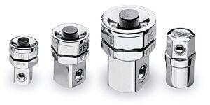 Beta Tools 123 /K4 4pc Ratchet Wrench Quick Release & Bit Adaptor Set 001230504