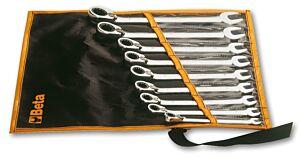 Beta Tools 142 /B9 9pc Reversible Combination Ratchet Wrench Set | 001420069