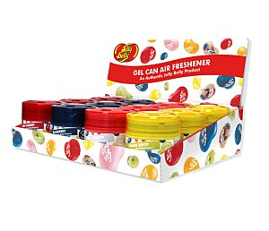 Mixed Gel Can Air Freshener - CDU of 12 JELLY BELLY 15580A
