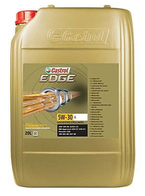 Castrol Edge 5W30 LL - 20 Litre 15664C CASTROL