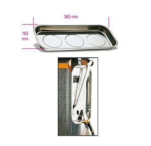 Beta Tools 1767PMR Magnetic Tool Parts Tray Holder 365 x 165mm   017670010