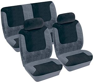 Car Seat Cover Heritage - Set - Black 1785303 COSMOS