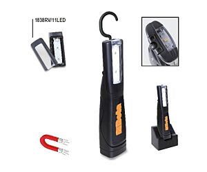 Beta Tools 1838/11LED Rechargeable LED Inspection Light Ultra-Bright 320 Lumens