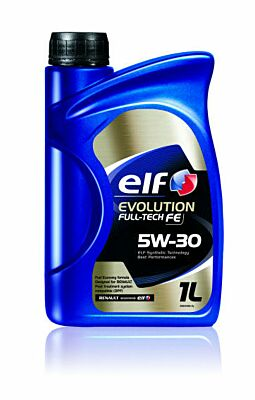 Total Elf Car Engine Motor Oil Evolution Fulltech FE Performance 5W30 1L Renault