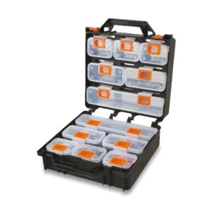 Beta Tools 2080/V12 Organizer Tool Case with 12 Removable Tote-Trays | 020800000