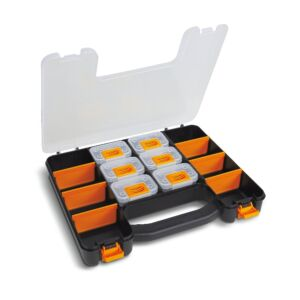 Beta Tools 2080/V6 Organizer Tool Case w/ 6 Tote-Trays & Partitions | 020800060