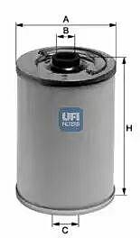 21.050.00 UFI Fuel Filter