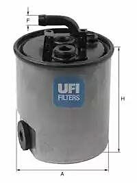 24.005.00 UFI Fuel Filter