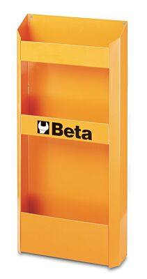 Beta Tools 2499PF-O 3 Tier Bottle Holder for C38 C38A Roller Cabs - Orange