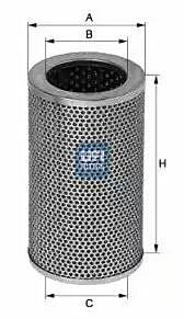25.406.01 UFI Hydraulic Filter, Steering System