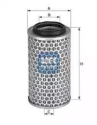 27.067.00 UFI Air Filter