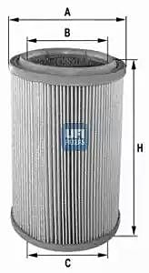 27.074.00 UFI Air Filter