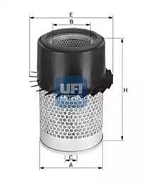 27.137.00 UFI Air Filter