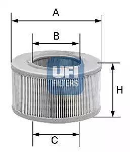 27.149.00 UFI Air Filter