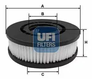 27.689.00 UFI Filter, Crankcase Breather Filter