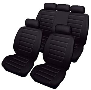 Car Seat Cover Carrera - Set - Black 2855303 COSMOS