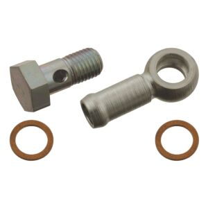 Attachment Parts Set thermostat housing Mounting kit 30076 by Febi Bilstein