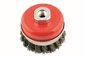 Abracs Twist Knot Cup Brush 70mm x M14 Box of 1 | Connect 32130