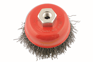 Abracs Crimped Cup Brush 100mm x M14 Box of 1 | Connect 32134
