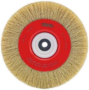 Draper 200 x 19mm Crimped Steel Wire Brushes | 33880