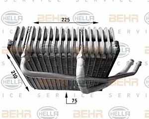 Evaporator Air Conditioning 8FV351210-771 by BEHR
