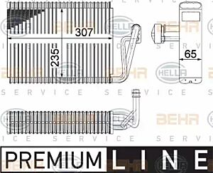 Evaporator Air Conditioning 8FV351211-261 by BEHR