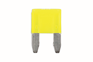 20amp LED Mini Blade Fuse Pk 25 | Connect 37173