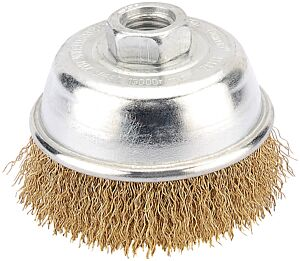 Draper 75mm Heavy Duty Wire Cup Brush with M14 Thread | 41442