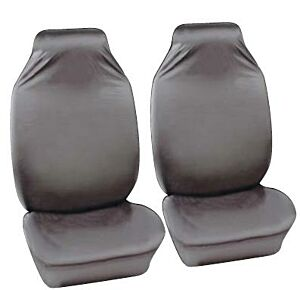 Car Seat Cover Defender - Front Pair - Grey 42302 COSMOS